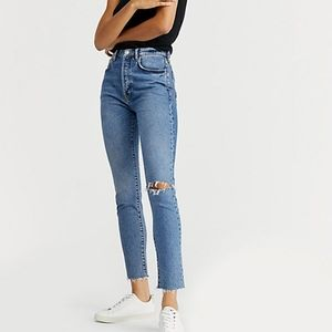 Free People Stella Skinny Jeans High Waist Sz. 29